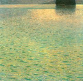 Insel im Attersee 1901