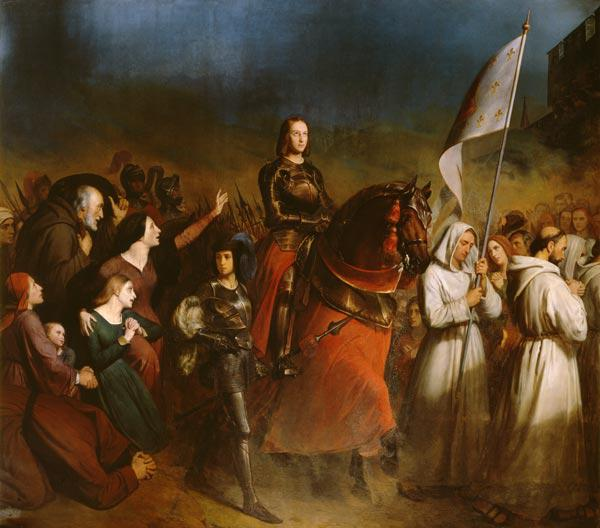 The Entry of Joan of Arc (1412-31) into Orleans, 8th May 1429 1843