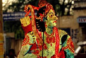 Figure of the God Rama