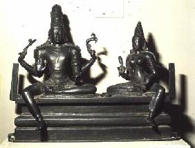 Shiva and Parvati, Chola Dynasty c.846