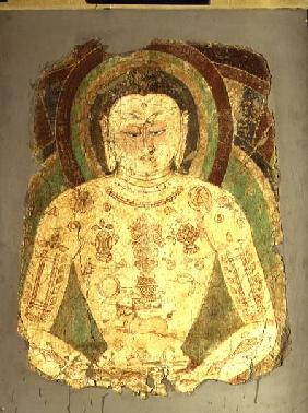Vairochana Buddha, from Balawaste 7th- 8th c