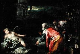 Susanna and the Elders 1585