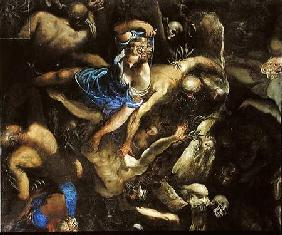 The Last Judgement, the Resurrection of the dead 1546