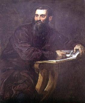 Portrait of a Bearded Man with a Book