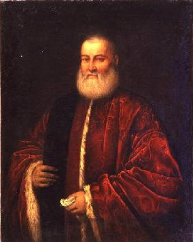 Portrait of an Old Man in Red Robes