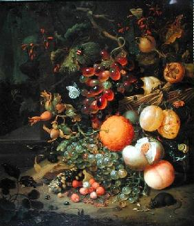 Still Life with Fruit 1704