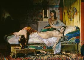 Death of Cleopatra 1874