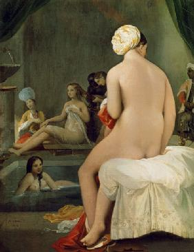 The Little Bather in the Harem 1828