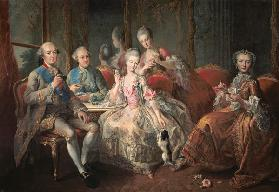 The Penthievre Family or The Cup of Chocolate 1768