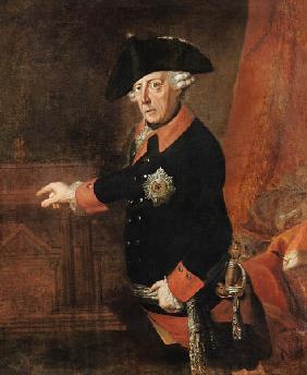 Frederick II The Great of Prussia, c.1763 1763
