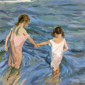 Children in the Sea 1909