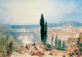 Florence from near San Miniato 1828