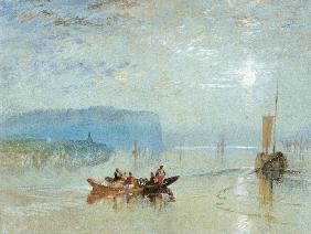 Scene on the Loire, near the Coteaux de Mauves c.1830  on