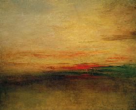 Sunset? Sonnenuntergang? 1830/35