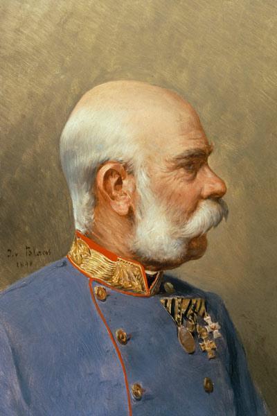 Gemaelde Bild Barock Bilderrahmen Kaiser Franz M102B