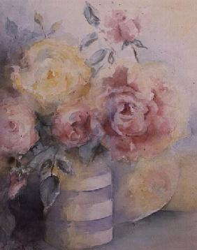 Roses in a Cornish Jug