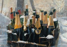 Boxing Day Empties, 2005 (mixed media)  2005