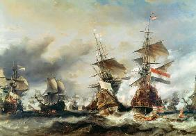 The Battle of Texel 21st Augus