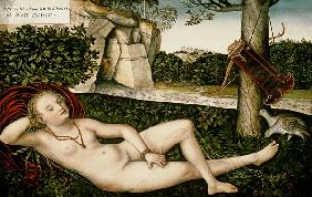 Diana Resting, or The Nymph of the Fountain 1537