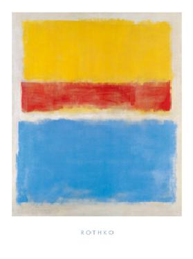 Untitled (Yellow-Red and Blue)