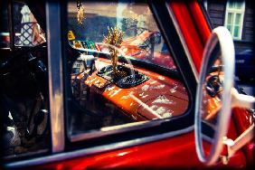 Red automobile 2