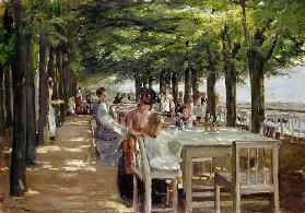 Restaurant Jacob in Nienstedten an der Elbe 1902