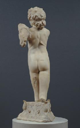 Back view of the 'Manhattan' Cupid c.1494-96