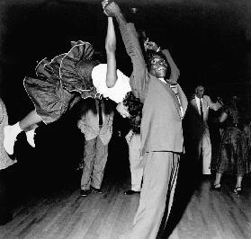 Couple dancing at Savoy Ballroom, Harlem