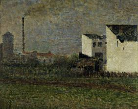 G.Seurat, The Suburb / 1882