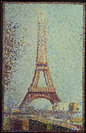 Seurat,G./ The Eiffel Tower / 1889