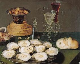 Still Life with Oysters and Glasses