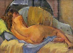 Nude on chaise longue