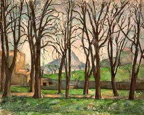 Chestnut trees at the Jas de Bouffan c.1885-87