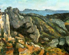 Rocks at L'Estaque 1879-82