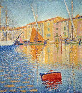 The Red Buoy, Saint Tropez, 1895 (oil on canvas) 16th