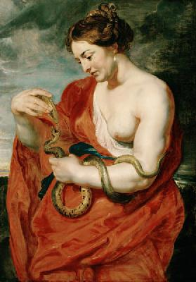 Hygeia, Goddess of Health 1615
