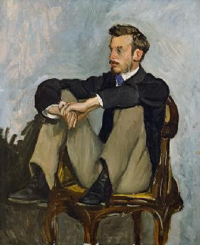 Portrait of Auguste Renoir (1841-1919) 1867