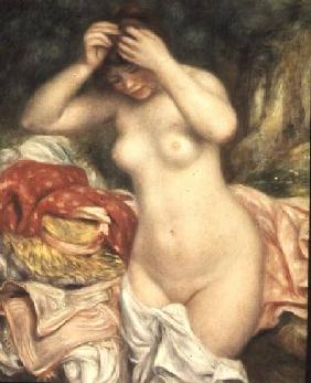 Bather Arranging her Hair 1893