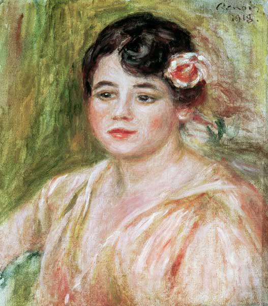 Portrait of Adele Besson 1918