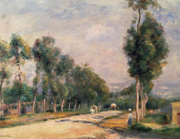 Renoir / Road near Louveciennes / 1895