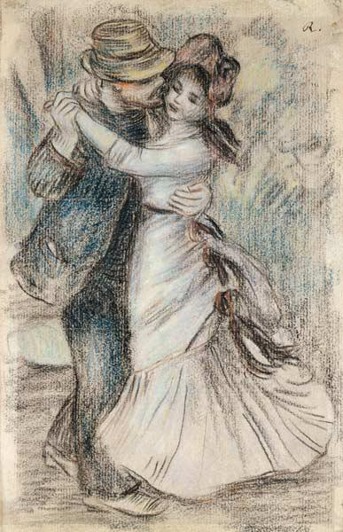 The Dance 1883 stel
