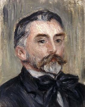 Portrait of Stephane Mallarme (1842-98)