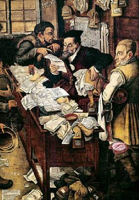 Brueghel d. J., Pieter : The Payment of the Yearly ...