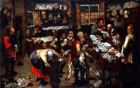 Brueghel d. J., Pieter : The Rent Collectors