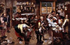 Brueghel d. J., Pieter : Rent day