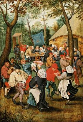 Brueghel d. J., Pieter : The Wedding Feast