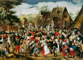 Brueghel d. J., Pieter : The Village Festival