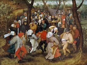 Brueghel d. J., Pieter : The Wedding Dance