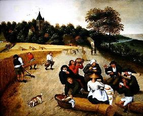 Brueghel d. J., Pieter : Summer (oil on canvas)