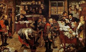Brueghel d. J., Pieter : The Village Lawyer